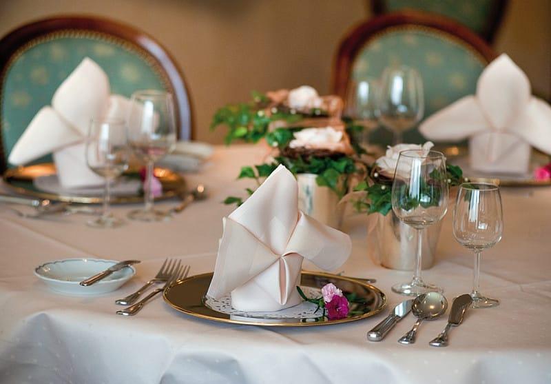 Betreutes Wohnen im Alter – gedeckter Tisch